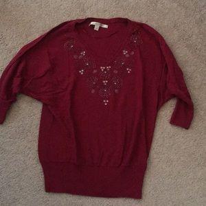 Lauren Conrad jeweled sweater
